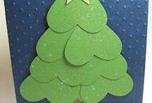 Ruční výrobky na vánoce - strom