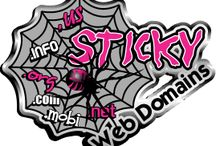 Visit Sticky Web Domains