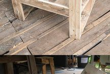 Pallet furniture chairs
