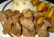 Fırında soslu et