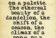 Victoria Erickson / This woman writes....speakes....the way I feel.