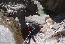 Barrancos del Pirineo Aragones / Son lugares unicos, donde el trabajo del agua ha dado lugar a sitios increibles.