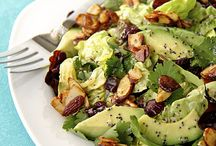 Green with Avocado – Avocado Salads / Green Salad Recipes featuring Hass Avocados / by Hass Avocados