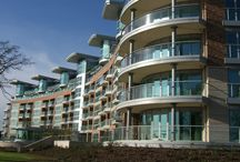 1400 Metres of Curved and Straight Glass Balconies / 1400 Metres of Curved and Straight Glass Balconies on Trent Park Riverside in Nottinghamshire.   Read more here:  http://www.balconette.co.uk/blog/index.php/trent-park-stunning-glass-balustrades/