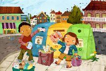 den země - třídíme odpad