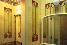 Ideas for a Large Art Nouveau Bathroom