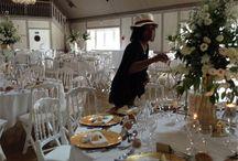 Décoration mariage au domaine de fontenelles, Aout 2015