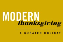 modern thanksgiving /  a minimal, textural, glam+ sparkly thanksgiving for the modern thanksgiving dwell studio contest   / by Christina Loucks