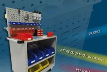 Line Car / Vip  / Practical, customizable tool-holder trolleys, suitable for the best classification.