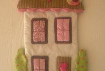- sewing wall hanging -