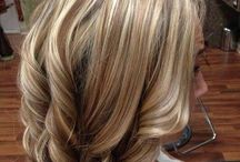 Stripete hår