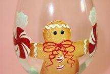 Copas y vasos navideños.....
