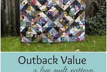 Outback Wife 2016 / 'Outback Wife' by Gertrude Made for Ella Blue Fabrics