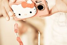 Hello kitty cameras / by Kitty White