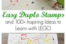 FOR THE KIDS: Learn with LEGO / Denver blogger {Beauty In The Mess} shares fun LEGO ideas for kids at home.