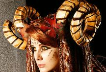 headdresses and wings