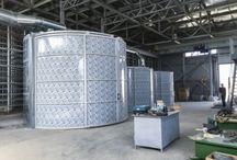 Impianti di aspirazione polveri / Scopri il nuovo impianto di aspirazione polveri in Russia con filtri autopulenti e bassa manutenzione, adatto agli ambienti di lavorazione estremamente polverosi.
