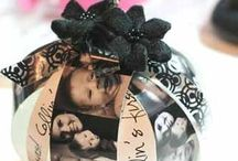 Holiday photo gifts ornaments / by MaryAnn Urbanik