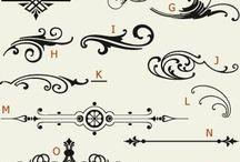 Symbols / Arrows / Arabescs