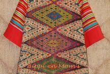 Ikat Woven Fabric Timor