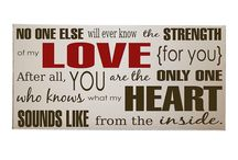 Quotes-Wooden art