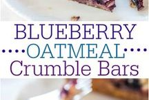 blueberries bars