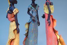 Sculptures / artesanato em argila