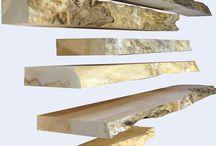 Fireplace wood mantel's