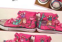 @deydashoes / Kişiye özel, birbirinden eğlenceli ayakkabılar. Bilgi ve sipariş için: deydaazra@gmail.com / Custom painted shoes, international shipping available