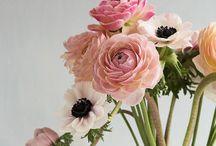 bord blomster