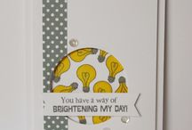 You're Brilliant / Inspiration for this stamp set and coordinating die!