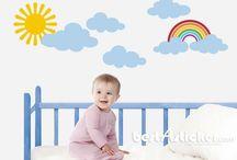 Bebek ve çocuk odası duvar stickerları / Bebek ve çocuk odası, salon ve kişiye özel duvar stickerları üreten türkiye'nin en renkli duvar sticker firması...