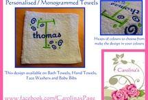 Carolina's / Embroidered & Handmade Products