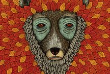 Illustrated Bestiary / Here are some of our favorite illustrations of animals.   See more galleries on Flickr: www.flickr.com/photos/flickr/galleries/