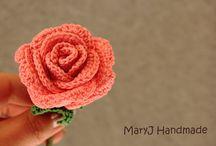 Rosa-fiori