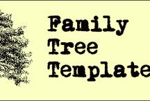 alberi genealogici di vari modelli da stampare