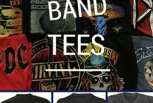 band tees
