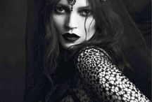 Gothic Inspired Editorials