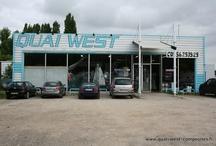 Magasin - Quai West Bordeaux / Quelques photos du point de vente à Bordeaux - Matériaux composites et peintures pros