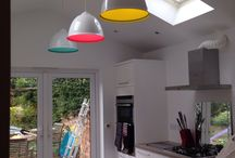 Interior / Our lights are up! New kitchen nearly complete!