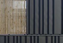 ARCH | facade | metal & wood
