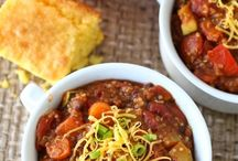 Recipes to Try // Soups & Chilies