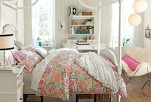 Bedroom ideas for the girls / by Angela Glausier