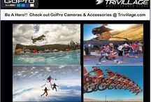 GoPro Cameras and Accessories at Trivillage.com / GoPro Cameras and Accessories at Trivillage.com