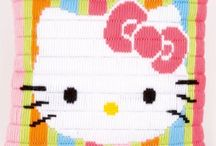 Hello Kitty / Hello Kitty handwerkpakketten