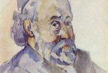 Paul Cezanne - watercolor / by Giel Frijns