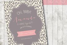 Animal Print Baby Shower / by Alanna Lee