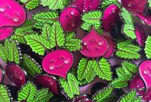 Enamel pins / Enamel pins, pin flair, kawaii lapel pins, quirky fashion accessories, button badges