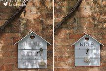 creare la casetta per porta chiavi