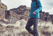 gift guide - the outdoorsman / Whether he's out in the field or deep in the forest, the Outdoorsman needs a jacket, like the TERNARY, that can protect him from the elements. Always prepared for any adventure, this guy packs his DOWN SHIRT as an extra layer and his MINI HOZUKI to light the way. / by Nau